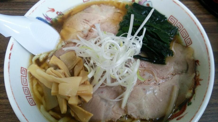 青竹手打ちの自家製麺が旨い。わたりや 群馬県渋川市
