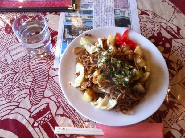 「栃木市」の三大麺の一つ「じゃがいも入り焼きそば」