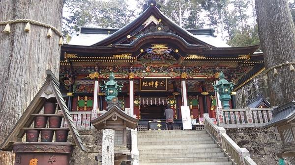 秩父の三峰神社