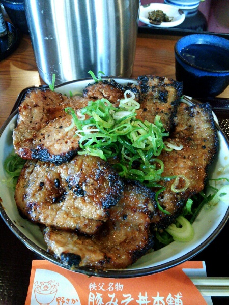 豚味みそ丼本舗「野さか」(秩父)