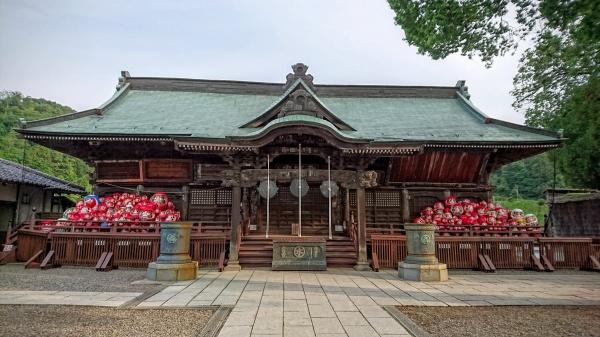 縁起だるまの少林山達磨寺(高崎)