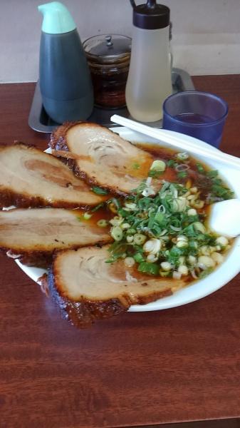 あぶり焼きチャーシューメンとジャンボ餃子「陽気軒」(群馬県高崎市)