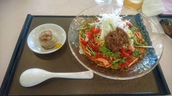 冷やし担々麺(上毛森林カントリー倶楽部)