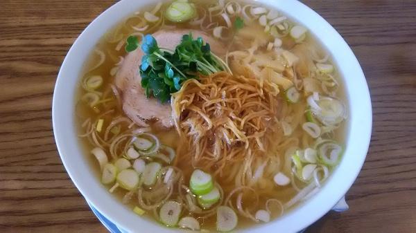 「醤油しょうがラーメン」手打ちラーメン 谷家(太田市)