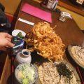 【福六十】の名物のかき揚げ丼セット(飯能市)