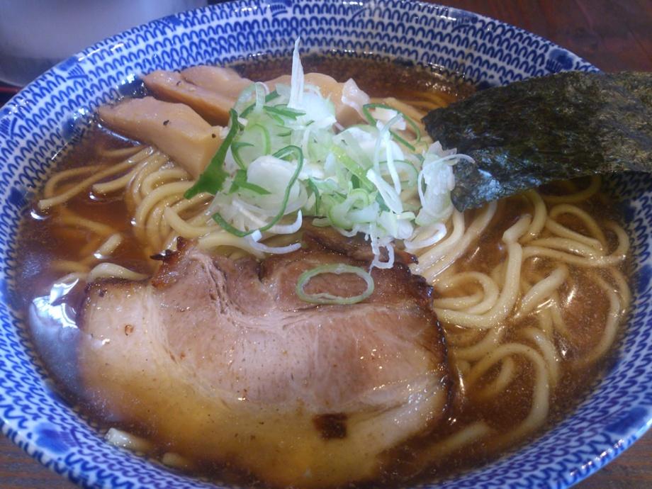 麺屋たつみ 喜心 (秩父)鰯煮干し拉麺(大)780円