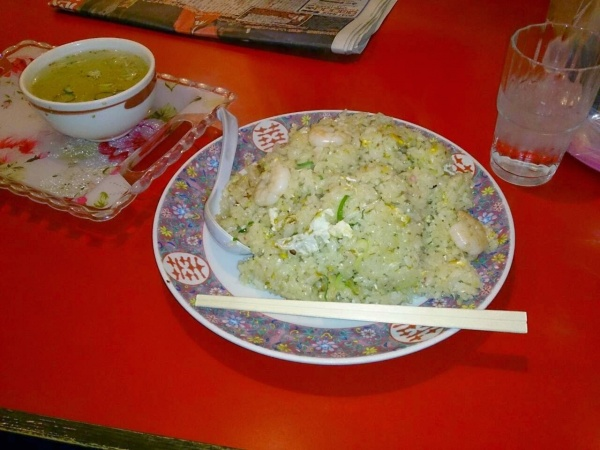 らーめん桐生のエビ炒飯(伊勢崎店)