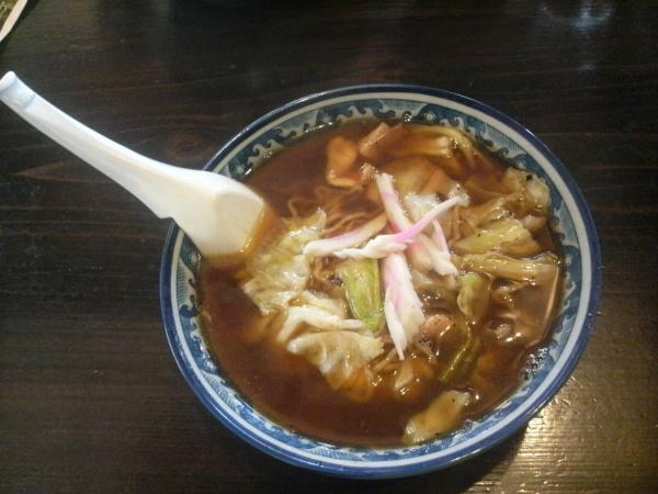 釜彦 スープ入りやきそば(那須塩原温泉)