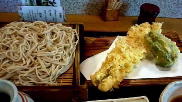 あなご天蕎麦(850円)@黄門そば土浦店
