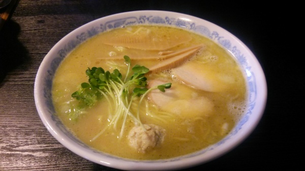 鶏そば本搾り塩・千思萬考(群馬県玉村町)