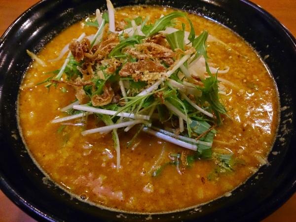 茨城県鹿嶋市・アイリスラーメン・カレー担々麺