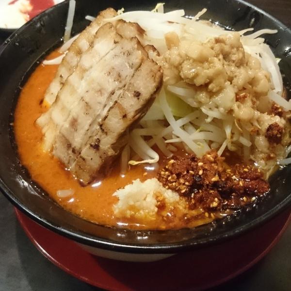旨辛ジパング麺【ジパング軒】栃木県下野市