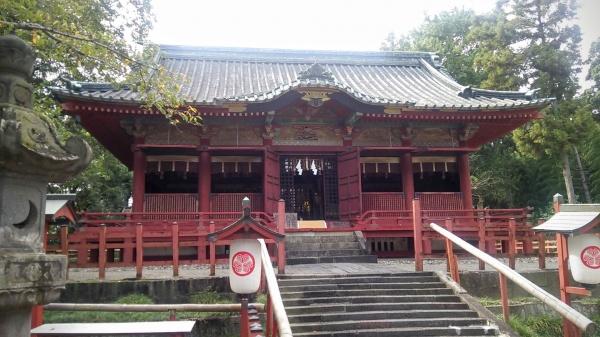 徳川発祥の地「世良田の東照宮」