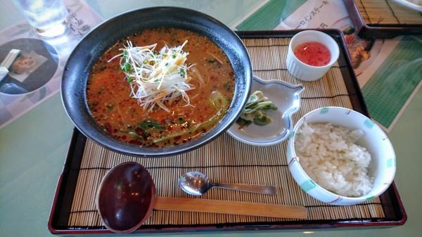 赤城ゴルフ倶楽部の特性担々麺