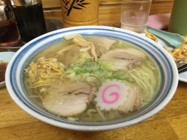 小三郎の生姜チャーシュー麺(栃木市)