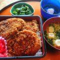 桐生カントリーのソースカツ丼
