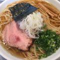 煮干蕎麦(醤油)つくば市の『喜乃壺』