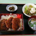 上武ゴルフ場の「ソースカツ丼」